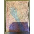 Seb's amazing hand pattern!