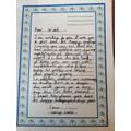 George's magnificent persuasive letter
