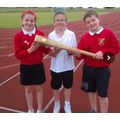 Our Sports Council with the Olympic Torch
