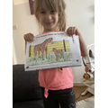 Alessia's horse and foal colouring