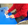 How to hold our pencil and write our name
