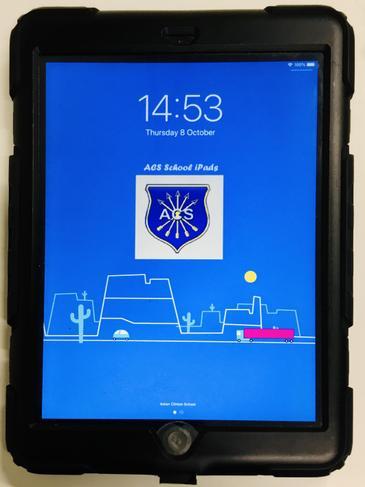 A class set of iPads tablets