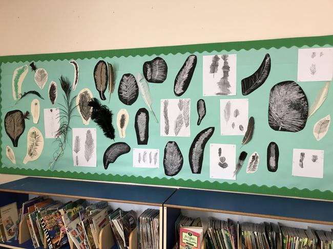 Sketching feather by yr 2