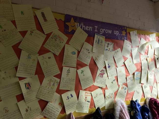 Yr 1 writing about their future