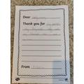 Lovely letter wriitng