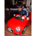 Baveen in his new car.jpg