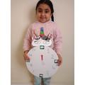 making a unicorn clock