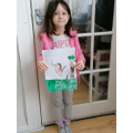 Lucy's lovely Robin picture