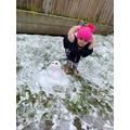 Look at my snowman