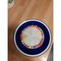 Tiffanys rainbow plate