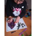 making animals from playdough