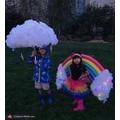 Rain Cloud and Rainbow