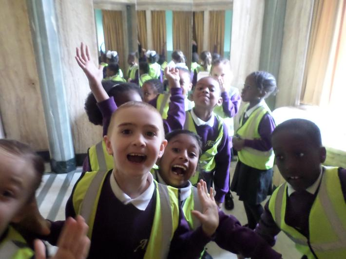 We enjoyed looking round the lovely rooms!