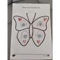 My symmetrical butterfly