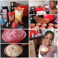 Baking yummy cupcakes!