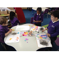 Showing emotions through art ande colour