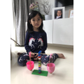 Gianhi made her own Balance scales. FANTASTIC!.jpg
