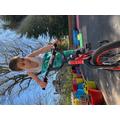 Martin loves bikes