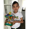 Aidan's lego trophy
