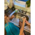 Laura measuring