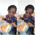 snack time while learning