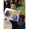 Showing Ruby's emotions through art and colour