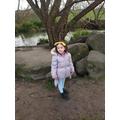 Lucy at Beckenham Place Park