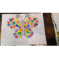 I can make a symmetrical butterfly