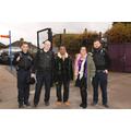 Mrs Dummer, Rev. Singh & Safer Neighbourhoods Team