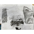 Varjak Car monster (school)