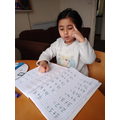 addition sums- counting on