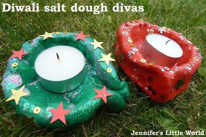 using salt dough