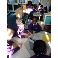 We did some writing about our Planets