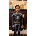 Anush dressed up for World Book Day