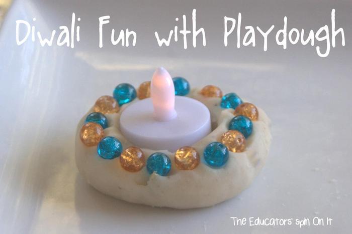 Using playdough