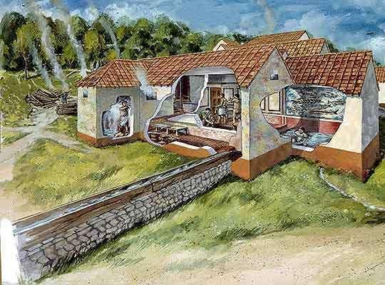 Lullingstone Roman Villa - October 18