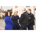 Ellie Reeves MP with Mrs Wong & Police leaders
