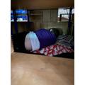 Darryson hibernating in his cave