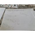 Kiers list writing what she would take if she was hibernating