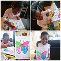 Creating a pretty butterfly