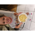 yummy cheesy pasta!
