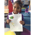 What a lovely list of what the caterpillar ate!