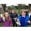 Mr Tull's class collected parts of nature to inspire and decorate their nature poems.