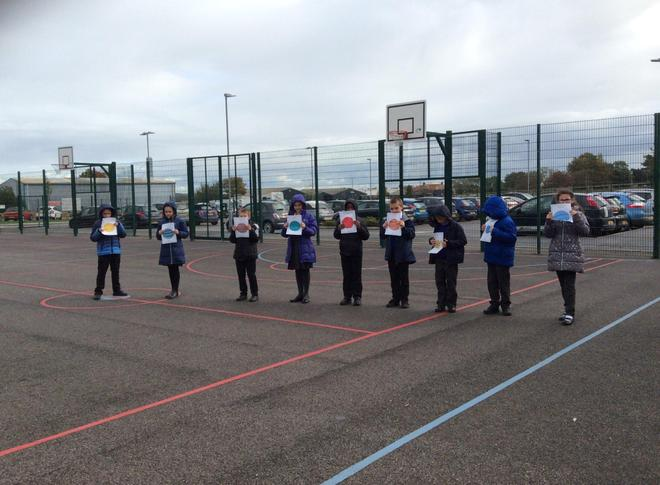 Miss Ford's class enjoyed modelling how the planets in the solar system orbit the sun