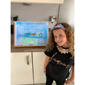 Isabella's under the sea picture
