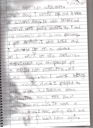Abdur Rahman's super Mr Benn story