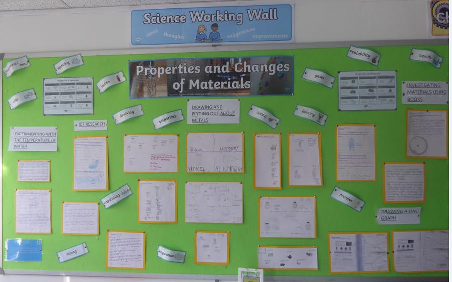 Y5 Science – Properties of Materials