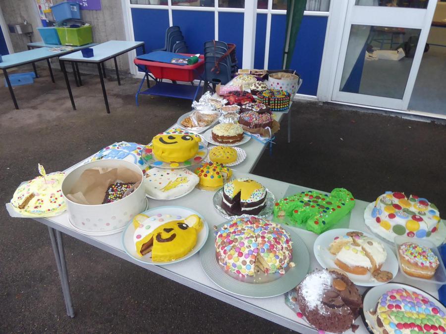 Children in Need Spotty Bake Off