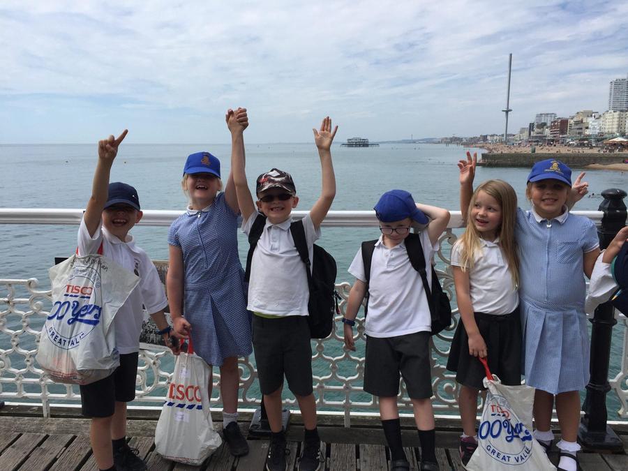 Y2 Brighton Sealife Centre trip