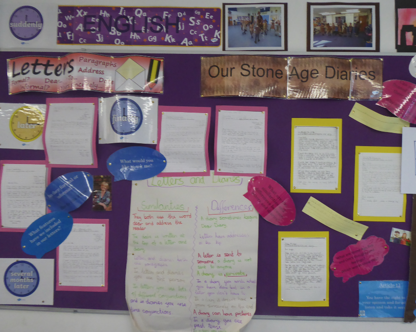 Y3 Stone Age diaries Oct 19